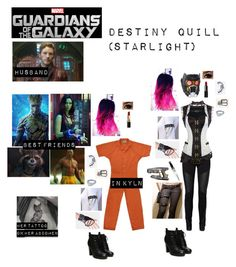 """Me in ""Guardians of the Galaxy"""" by c-a-marie2000 ❤ liked on Polyvore featuring Bobbi Brown Cosmetics, NARS Cosmetics, Vero Moda and Verragio"