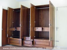 Space Saving Concepts and Wardrobe Designs by Modern Interior Concepts #moderninteriorconcepts #interiorchennai