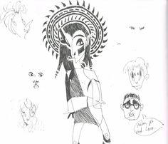 Sketchbookpage by Marika Reis