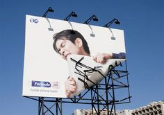30 must-see examples of billboard advertising. You have to do something to stand out in this day and age, and these people have mastered it.