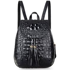 New Trending Backpacks: Pijushi Embossed Crocodile Leather Backpack for Girls Cute Schoolbag Small Shoulder Bag B66810 (66810 Black). Pijushi Embossed Crocodile Leather Backpack for Girls Cute Schoolbag Small Shoulder Bag B66810 (66810 Black)  Special Offer: $136.33  200 Reviews About PIJUSHI Welcome to PIJUSHI Amazon Official Store. PIJUSHI Co.,ltd is a fashion original designer brands in USA, and always committed...