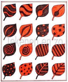 herfstbladeren - creatieve opdracht