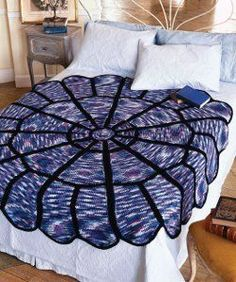 This Round Stained Glass Afghan is an easy crochet afghan to make and will look great draped over your bed. The stunning pattern truly resembles a stained glass window. If you've never made a round afghan before, this is a great pattern to start with. Crochet Afgans, Crochet Yarn, Crochet Blankets, Crochet 101, Ravelry Crochet, Crochet Stitch, Crochet Doilies, Double Crochet, Afghan Crochet Patterns