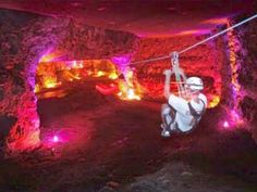 Kentucky: Louisville Mega Cavern | 10 Insane Zip Lines for Thrill-Seeking Families #ziplines