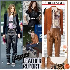 New contest : Leather, created by chareznasheer on Polyvore