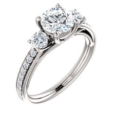 14kt diamond engagement ring. Find it at a jeweler near you: www.stuller.com/locateajeweler #bestseller #engagement
