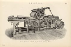 Image detail for -ANTIQUE PRINTING PRESS 1880 Buxton by VintageDecorPrints on Etsy