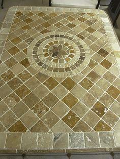 1000 id es sur tables en carrelage sur pinterest tuilage for Carrelage pierre basset salernes
