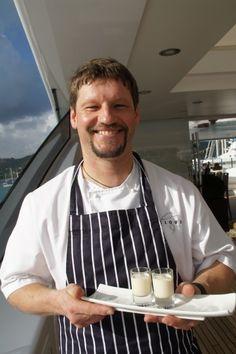 A #superyacht #chef.  Photo Source: Suki Finnerty of YachtingToday.TV.
