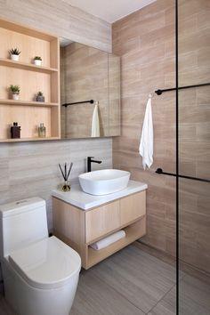 Interior Design Toilet, Toilet Design, Studio Interior, Contemporary Interior Design, Home Interior Design, Apartment Interior, Interior Design Singapore, Interior Ideas, Modern Contemporary