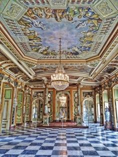 Hall of the Throne, Queluz Palace - Queluz Portugal