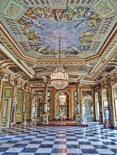 Hall of the Throne, Queluz Palace - Queluz Portugal