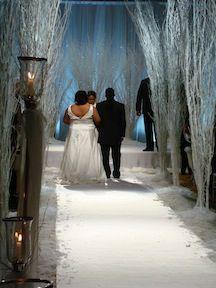 Wanda's Chic South Beach Inspired Wedding - My Fair ...   Wonderland Wedding David Tutera