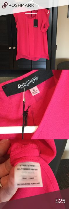 NWT 41Hawthorn Stitchfix pink blouse size small NWT 41Hawthorn Stitchfix pink blouse size small 41Hawthorn Tops Blouses