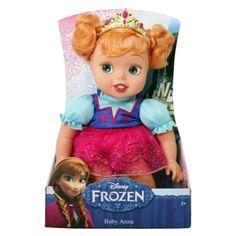 Disney Frozen Baby Anna Doll