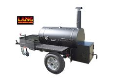 Competition smoker cookers from Lang BBQ Smokers