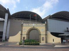 Porta do Cerco - Fronteira Macau - China © Viaje Comigo Macau China, Hong Kong, Louvre, Building, Travel, Temples, Traveling, Viajes, Buildings