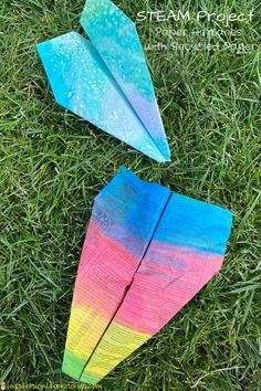 STEAM Project: Paper Airplanes with Recycled Paper | Inspiration Laboratories