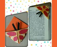 Handmade Paper Corner Bookmark