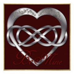 Infinity+Heart+Meaning | Double Infinity Silve Heart 4 Be Mine! Valentine Announcement