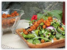 Sunt og godt; ristede kikerter med smak av chilinøtter! (En helseblogg om jakten etter en friskere...)