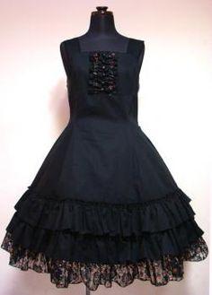 Atelier Pierrot Summer Dress Black