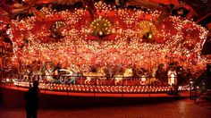 World's Largest Carousel - House On The Rock Museum, Wisconsin #redmoxy