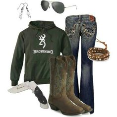 Browning! :)....those boots!