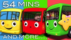 Wheels On The Bus   Plus Lots More Nursery Rhymes   54 Minutes Compilation!