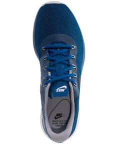 Nike Men's Tanjun Racer Casual Sneakers from Finish Line - Blue 11.5