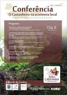 Conferência: O Castanheiro na economia local > 8 Nov 2014, 10h30 @ São Pedro de Castelões, Vale de Cambra  #ValeDeCambra #SaoPedroDeCasteloes