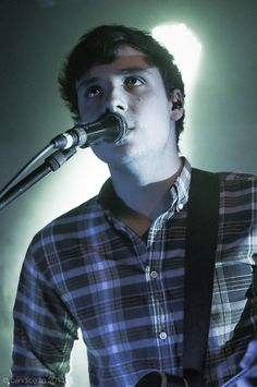 Sam Halliday //  Awwwww...Sammy boy. He looks so young and beautiful. When I get older im going to be proud to say that I grew up listening to these guys. I love you Two Door Cinema Club. I love you guys so freaking much.