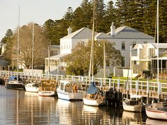 Port Fairy, Victoria. This fishing village, less than 200 miles west of…