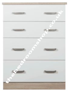 Coral Bay 4 Drawer Deep Chest
