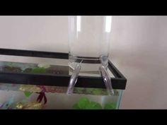 How to: Open Bottom Fish Tank/ Betta Tower - YouTube