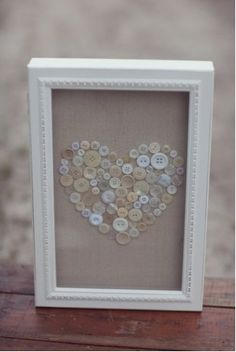 I love this - simple and beautiful! I bought one of these shadow box pin boards at Home Goods recently and will tuck this idea away for the next one I buy.