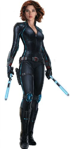 Black Widow's Age of Ultron Costume. COOL!