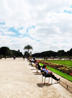 Soak up the sun like a true Parisian in Jardin du Luxembourg with its wonderful scenery.