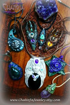 Creative Days January 2015 - ChaNoJa Creations - only for magical people! Fairy Elven Fantasy Woodland Crystal Jewelry Leaf Pendant....    Find us here: https://www.facebook.com/Chanoja  And our Shop : https://www.etsy.com/ch-en/shop/ChaNoJaJewelry?ref=l2-shopheader-name