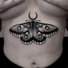 Belly Tattoos, Stomach Tattoos, Dope Tattoos, Badass Tattoos, Pretty Tattoos, Body Art Tattoos, Black Tattoos, Tatoos, Small Chest Tattoos