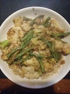 Groenten in Thaise currysaus     Goed en gezond eten