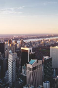 View of midtown Manhattan from the new 432 Park Avenue pencil skyscraper