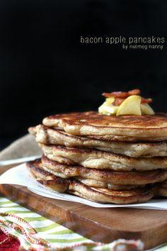 Bacon Apple Pancakes