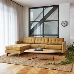 The Jane 2 Bi-Sectional retains the iconic, mid-century look while adding contemporary enhancements. It has been cleverly designed so that it can be configured with the chaise on the left OR the right, depending on your floorplan. Shop the entire Gus* Modern collection on tuckstudio.ca!
