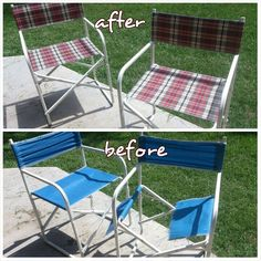 Barnnumber2 : Upcycled lawn chairs