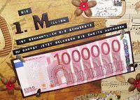 Die erste Million... zum 60. Geburtstag (Cool Crafts Creative)