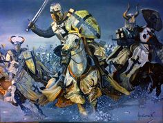 Charge of the Teutonic knights