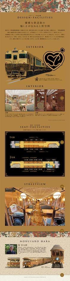 或る列車 WEBデザイナーさん必見!ランディングページのデザイン参考に(かっこいい系)