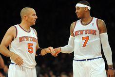 Carmelo Anthony and Jason Kidd.