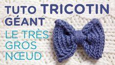 Loom knit tutorial: the maxi bow. How to loom knit a big bow. How to loom knit a big bow. Round Loom Knitting, Loom Knitting Stitches, Knifty Knitter, Loom Knitting Projects, Easy Knitting Patterns, Loom Patterns, Baby Knitting, Cross Stitches, Knitting Tutorials